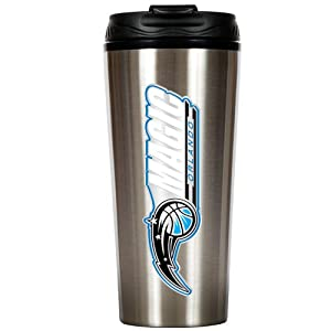 NBA 16-Ounce Stainless Steel Travel Tumbler by Great American Products