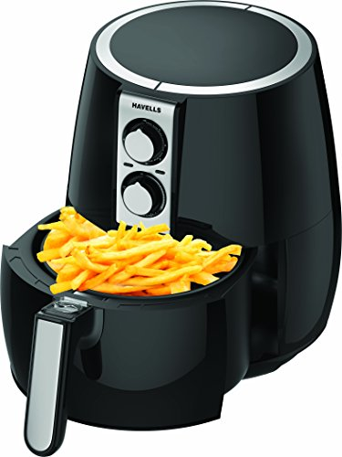 Buy Havells Prolife Plus 4-Litre 1230-Watt Air Fryer (Black) Online at Low Prices in India - Amazon.in