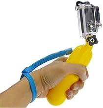 Flotante palo de mano flotante Grib W / correa de muñeca para cámara Gopro Hero 1 2 3