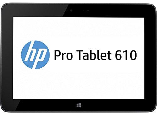 "HP Pro 610 G1 - Tablet de 10.1"" (WiFi, 64 GB, Intel Atom Z3795, 1.6 GHz, 4 GB RAM, Windows 8.1), negro"