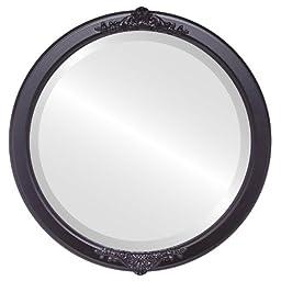 Athena Circle in Matte Black