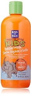 Kiss My Face Kids Bubble Wash, Orange…