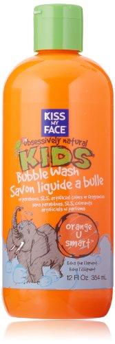 Kiss My Face Kids Bubble Wash, Orange U Smart, 12 Ounce Bottle