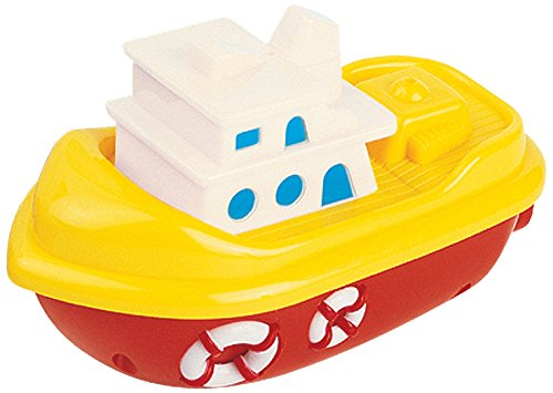 Navystar Wind Up Tug Boat Baby Toy (Colors May Vary)