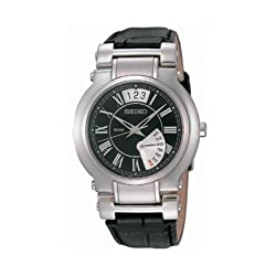 Seiko Analog Black Dial Unisex Watch - SPQ005P1