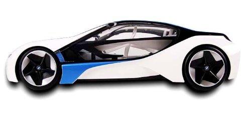 BMW i8 1/14 scaleコンセプトカーラジコン Vision EfficientDynamics ミッションインポッシブルで活躍 ホワイトカラー