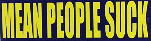 C&D Visionary Mean People Suck Sticker