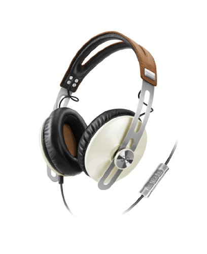Sennheiser Momentum 1.0 Closed Circumaural Over-Ear Headphone with Smart Remote - Ivory