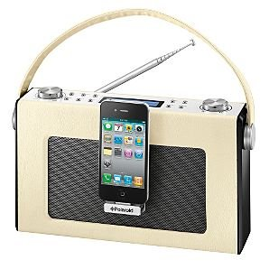 polaroid retro fm digital radio with iphone electronics. Black Bedroom Furniture Sets. Home Design Ideas