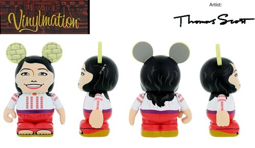 "Indiana Jones Series 1 Marion Ravenwood Disney Vinylmation 3"" inch Figure - 1"