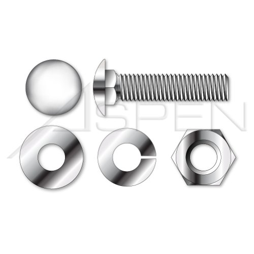"5//16-18 X 2/"" Stainless steel button head standard bolts 10pcs"