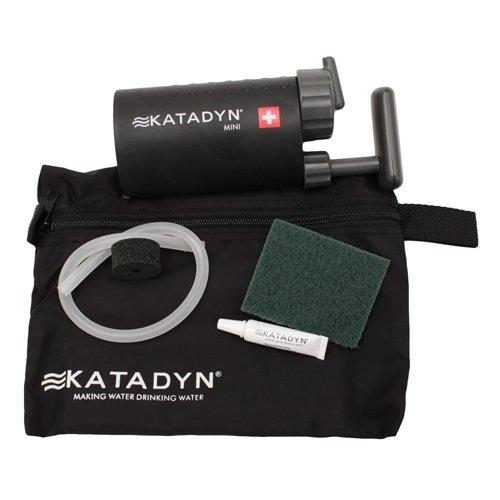 カタダイン ミニ セラミック マイクロフィルター 携帯浄水器 Katadyn Mini Microfilter 並行輸入品 (Black)