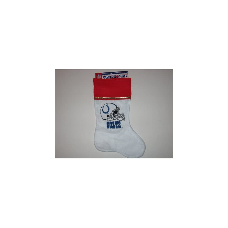 INDIANAPOLIS COLTS 14 Team Logo CHRISTMAS STOCKING