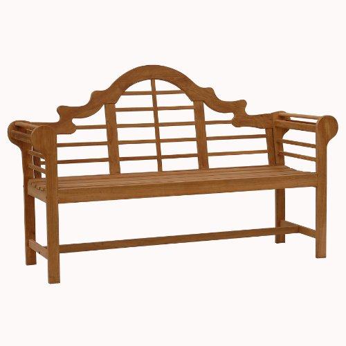 SEI Teak Lutyens Bench, 5-Feet (Discontinued by Manufacturer)