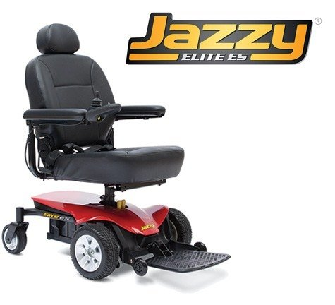 Pride Mobility Jelitees Jazzy Elite Es Electric Wheelchair