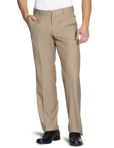 Esprit Men's Comfort Fit Two-Piece Suit Tender Beige Melange XL