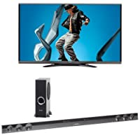 Sharp 70SQ15U LED HDTV with HT-SB602 Sound Bar