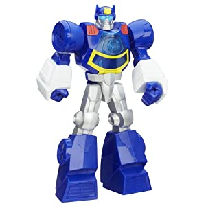Playskool Transformers Rescue Bots Chase the Police-Bot Figure, 12-Inch