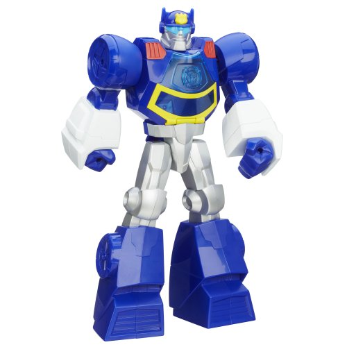 Playskool Transformers Rescue Bots Chase The Police-Bot Figure, 12-Inch front-508627