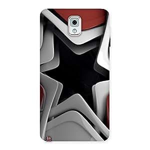 Premium Techisa Multicolor Back Case Cover for Galaxy Note 3