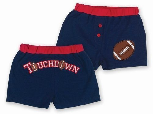 Bearington Baby Collection Touchdown Diaper Cover