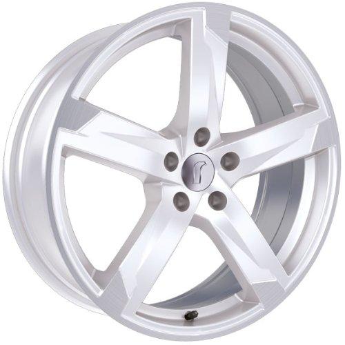 1 x Rondell Z Design 01RZ in 7,5 x 17 ET 45 LZ/LK 5 x 114,3 Farbe Racing Weiß, poliert für Hyundai ix35 Typ EL, ELH, LM