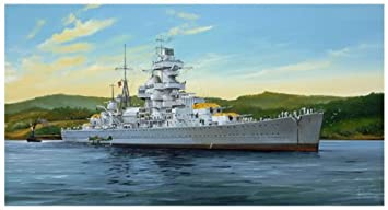 German Admiral Hipper Heavy Cruiser 1941 1-350 Trumpeter