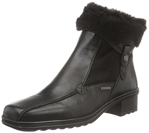 Gabor Shoes Comfort Basic, Stivaletti Donna, Nero (Schwarz Mel.), 43 EU