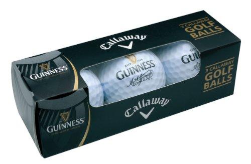 Guinness Callaway 3pk Golf Balls