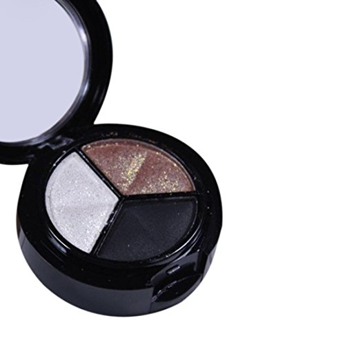 Canserin Smoky Cosmetic Set 3 colors Professional Natural Matte Makeup Eye Shadow (MulticolorC)