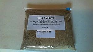 Sucanat Sugar, 1 lb.