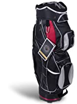 Pinemeadow Courier Cart Bag (Black/Red)