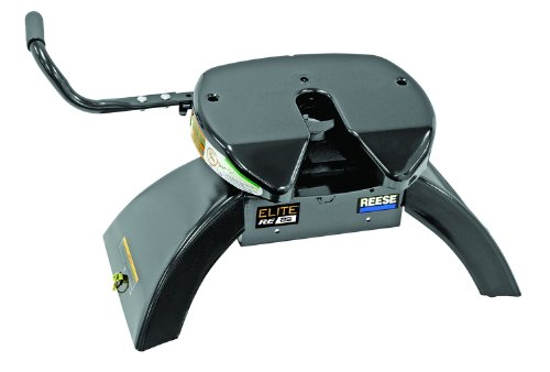 Reese Elite Series Fifth Wheel 25K (Pre-Assembled) And 90-Degree Fifth Wheel Adapter Harness (#50-97-410)