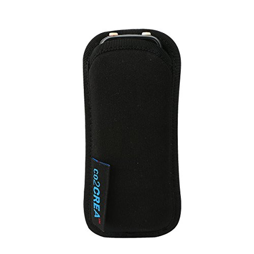 for Sony ICD PX333 PX440/Olympus Voice Trek VN-7200 Digital Voice Recorder Soft Storage Travel Carrying Case Sleeve by co2CREA (Sony Digital Voice Recorder Case compare prices)