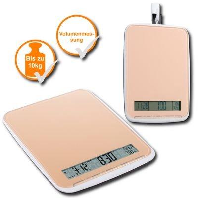 Pratique et haut de gamme xL multi balance gewichtsmessungen à 10 kg-surface élégante par le budget de la balance dans les oranges design &produit neuf vendu dans son emballage original.