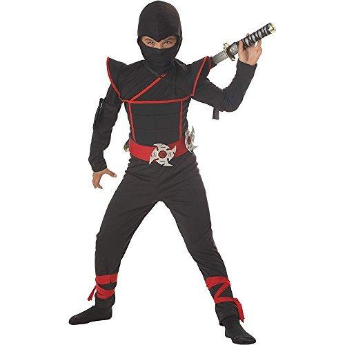[Stealth Ninja Kids Costume - Small Color: Black Size: Small Model:] (Child Blue Stealth Ninja Costumes)