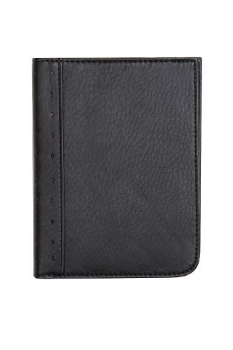 RFID Blocking Passport Wallet (Type I) (black)