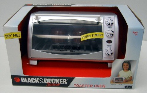 Black & Decker Junior Toy Toaster Oven