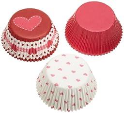 Wilton Valentine Standard Baking Cups, 75 count