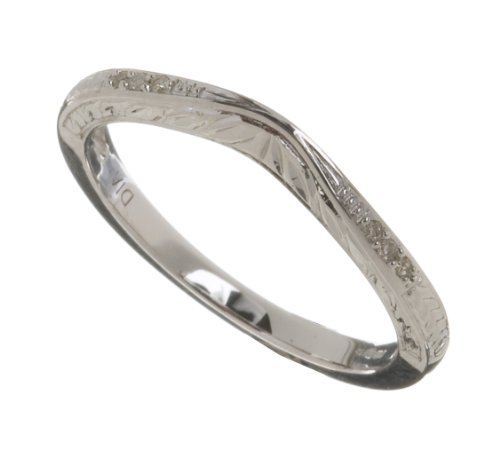 Ladies 9ct White Gold Diamond Eternity Ring