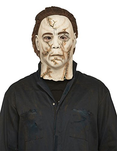 Michael Myers Rob Zombie Mask Halloween Costume - Most Adults