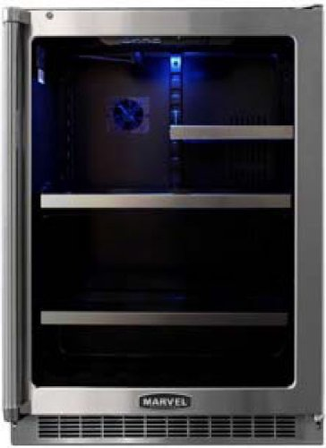 Glass Door Beverage Refrigerators front-29521
