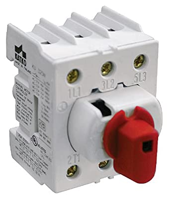 Disconnect Switch 3 Pole Non Fused 25a Panel Mount