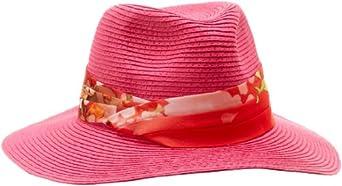 Genie by Eugenia Kim Women's Billie Fedora Hat, Fuchsia, One Size
