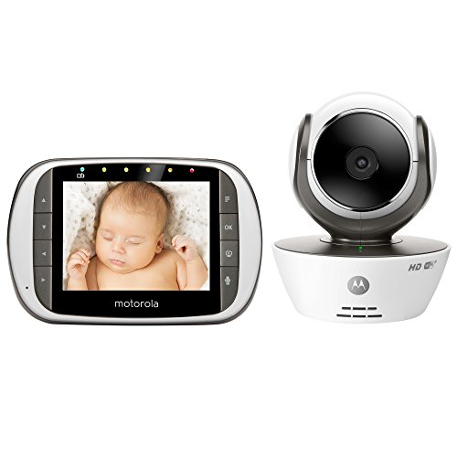 Motorola Digital Video Baby Monitor with Wi-Fi Internet Viewing and 3.5 Inch Diagonal Color Screen (MBP853CONNECT)