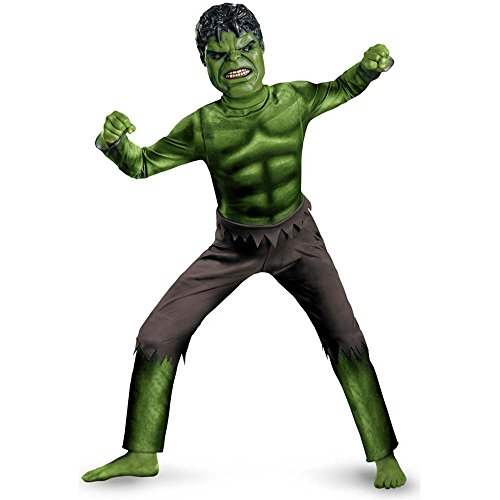 The Avengers: Hulk Movie Kids Costume