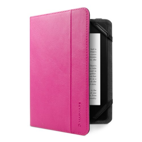 MarBlue Atlas 1.0 Kindle Case Cover, Pink (fits Kindle Paperwhite, Kindle, and Kindle Touch)