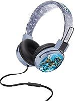 Skylanders Junior Customisable Headphones with Volume Limiter and Microphone - Grey