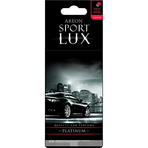 Automobile Platinum: Areon Sport LUX Quality Perfume/Cologne Cardboard Car