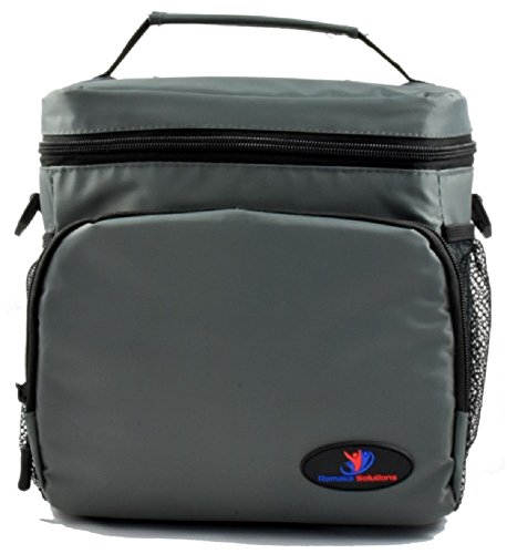 Ramaka Solutions Insulated Lunch Bag With Side Pockets